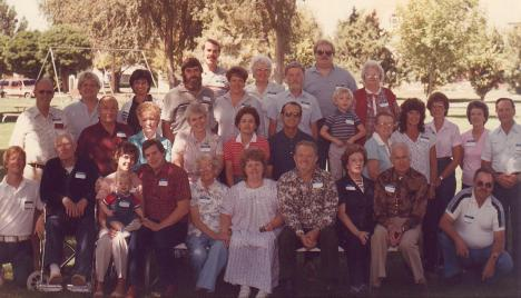 1984 Sherbondy Family Association Oregon Reunion Photo